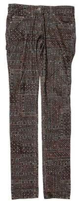 Etoile Isabel Marant Printed Corduroy Pants