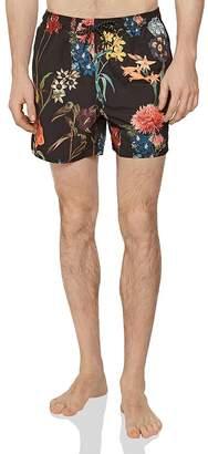 4ed9e23523433 Reiss Zimi Floral Print Swim Trunks
