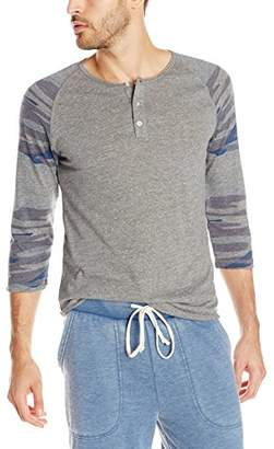 Alternative Men's Eco Jersey 3/4 Raglan