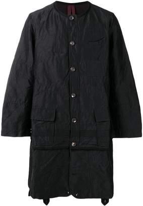 Ziggy Chen structured coat