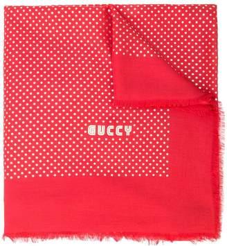 Gucci stars print shawl