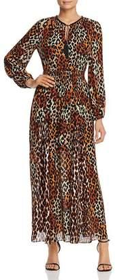 Kobi Halperin Leopard-Print Maxi Dress