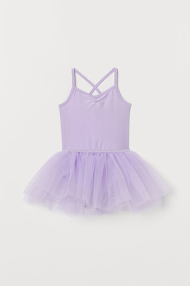 H&M Leotard with a tulle skirt