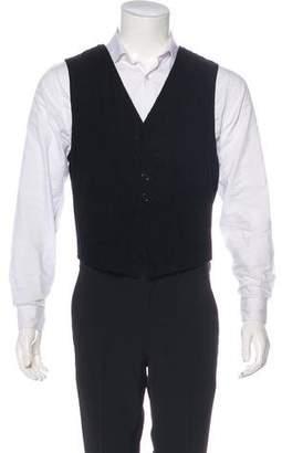 Ann Demeulemeester Corduroy Reversible Vest