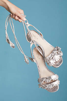 Anthropologie Cecelia New York Fleur Wrap Sandals