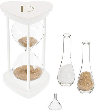 Cathy's Concepts Personalized Gold Unity Sand Ceremony Hourglass Set