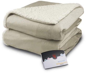 Biddeford Heated Micro Mink/Sherpa Full Blanket Bedding