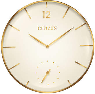 Citizen (シチズン) - Citizen Gallery Gold-Tone Wall Clock