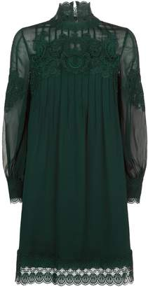 Ted Baker Anneah Lace High Neck Tunic