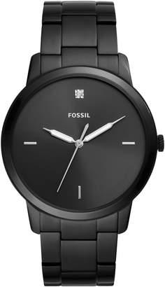Fossil Minimalist Carbon Series Bracelet Watch, 44mm