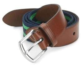 Polo Ralph Lauren Stretch Leather& Cotton Belt