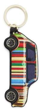 Paul Smith Striped Car Leather Key Ring - Mens - Multi