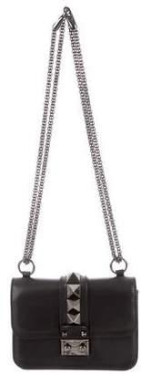Valentino Rockstud Lock Flap Crossbody Bag