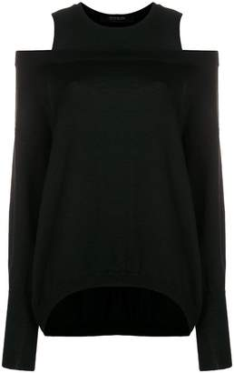 Federica Tosi cold shoulder sweater