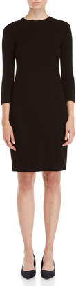 Vince Black Boucle Dress