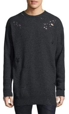 Diesel Ripped Knitted Sweater