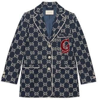 Gucci GG jersey jacket