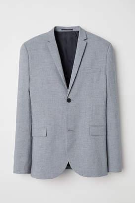 H&M Blazer Skinny fit - Gray