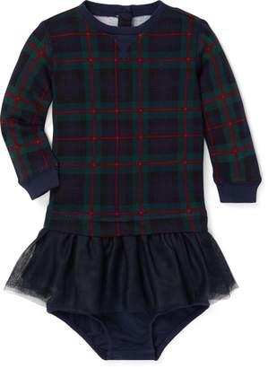 Ralph Lauren Print Tulle-Terry Dress