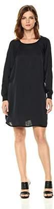 Enza Costa Women's Long Sleeve Raglan Dress