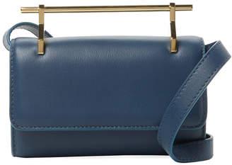 M2Malletier Fabricca Mini Leather Satchel