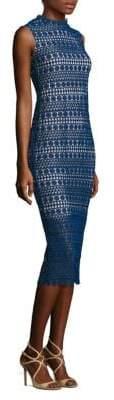 Shoshanna Sleeveless Lace Dress