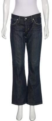 Paper Denim & Cloth Mid-Rise Wide-Leg Jeans