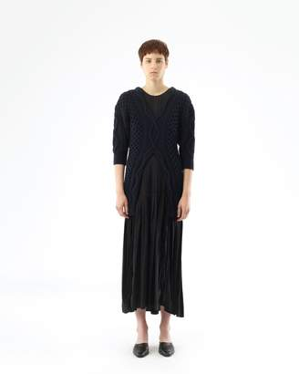 3.1 Phillip Lim Cable Sweater With Cami Dress