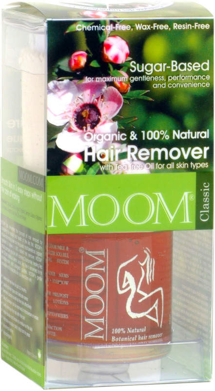 Moom Organic Hair Removal Kit with Tea Tree