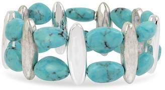 Robert Lee Morris Soho Turquoise Stretch Bracelet
