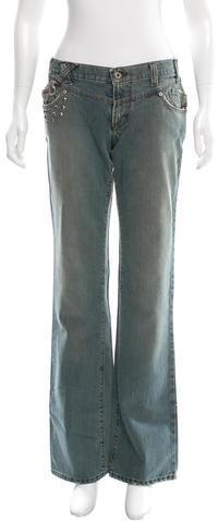 Dolce & GabbanaD&G Embellished Straight-Leg Jeans