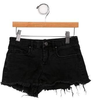 Blank NYC Girls' Distressed Denim Shorts