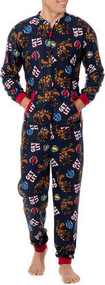 WEMBLEY Wembley Funsie Onesie You're Still Naughty 1 Piece Pajama -Men's
