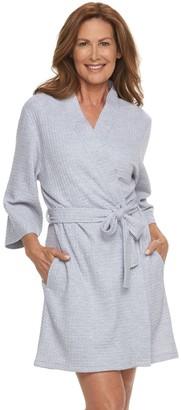 Croft & Barrow Women's Waffle Texture Robe