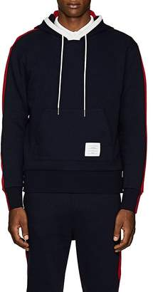 Thom Browne Men's Colorblocked Cashmere-Cotton Hoodie