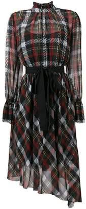 Blugirl tartan print dress