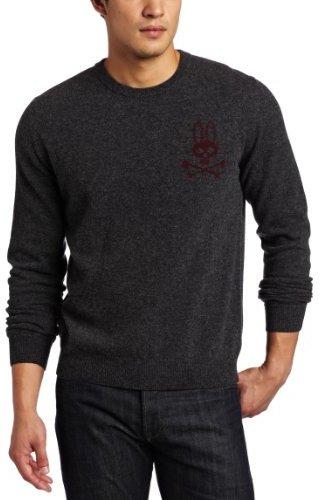 Psycho Bunny Men's Intarsia Sweater
