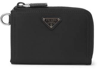 Prada Nylon Zip-Around Wallet