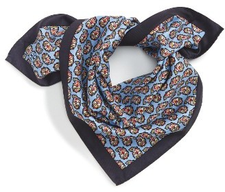 Women's Tory Burch Paisley Silk Scarf $68 thestylecure.com