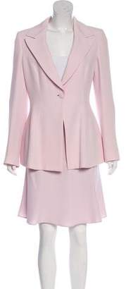 Giorgio Armani Silk Skirt Set