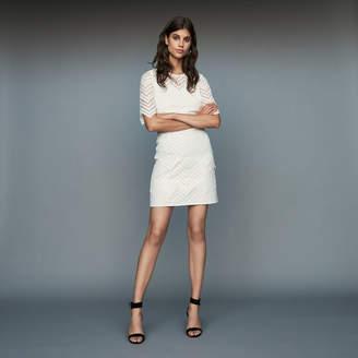 Maje Straight lace dress