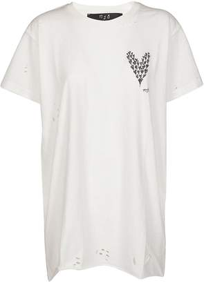 Burton Marc Jacques Heart Print T-shirt