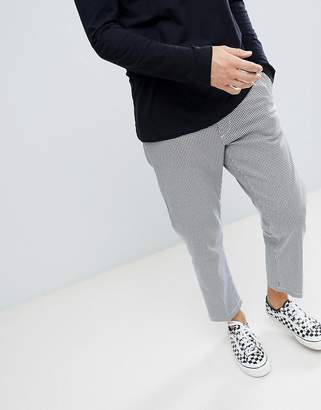 Obey Straggler Houndstooth Pant In Straight Fit