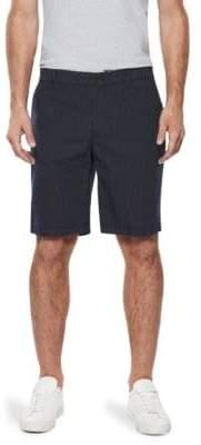 Paige Striped Cotton Shorts