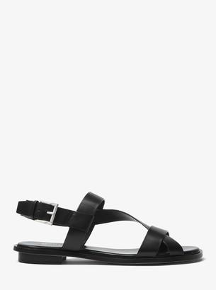 MICHAEL Michael Kors Mackay Leather Sandal