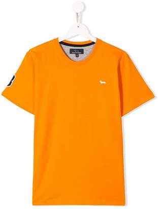 Harmont & Blaine Junior TEEN number patch T-shirt