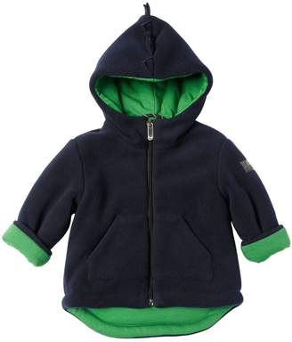 Il Gufo Dino Hooded Fleece Jacket