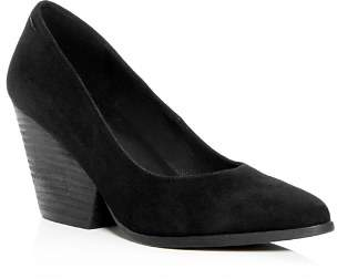 Eileen Fisher Women's Hawk Suede Wedge Pumps