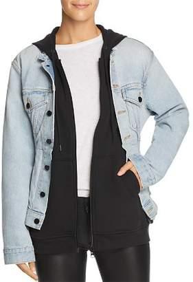 Alexander Wang alexanderwang.t Joint Mix Jacket in Bleach