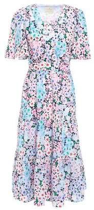 Kate Spade Floral-print Crepe Dress